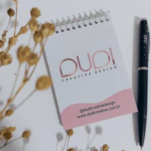 bloquinho personalizado @dudicreativedesign
